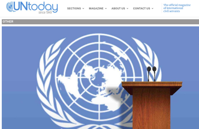 UNToday Article by Laura Penn, PhD